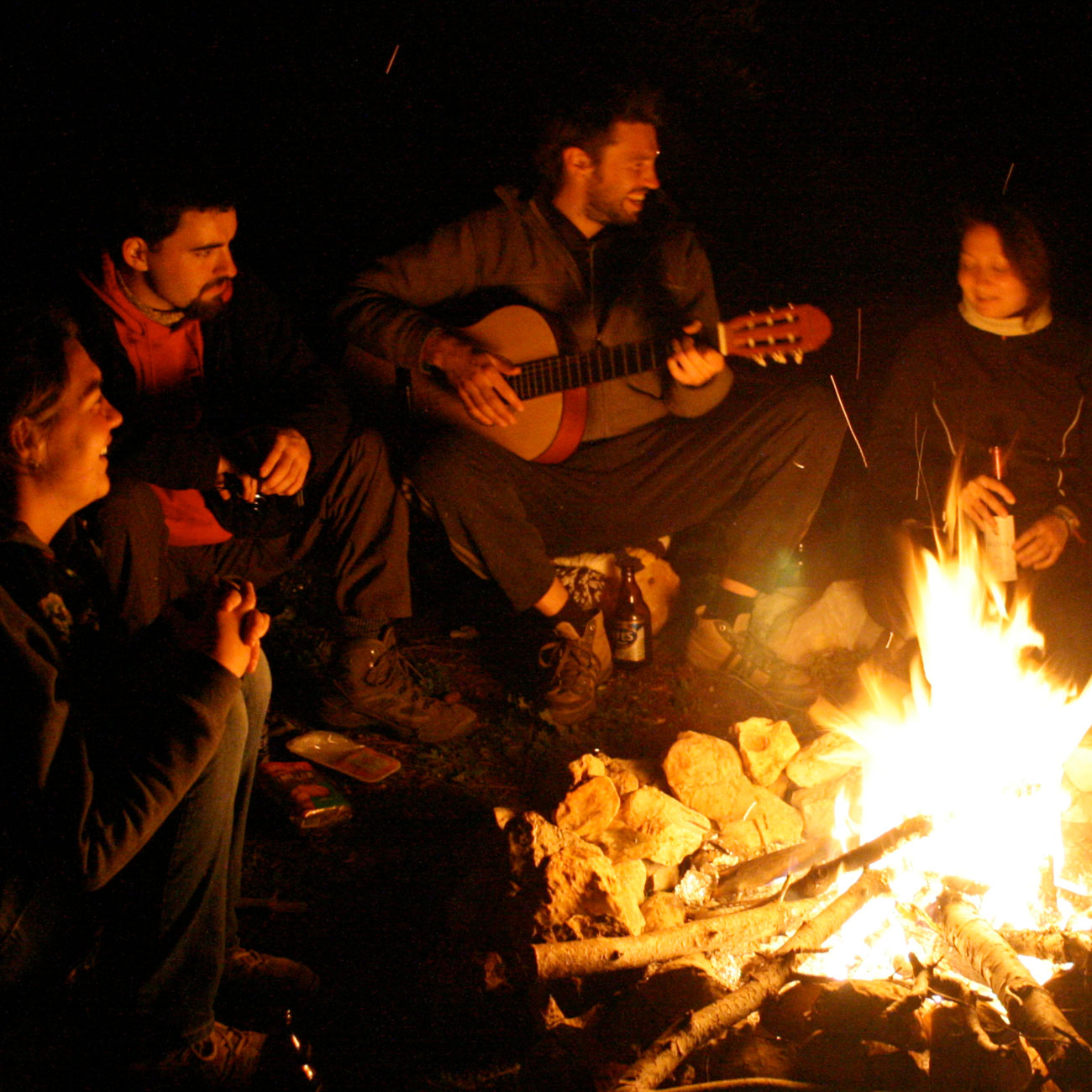 Lagerfeuer · Teamabend